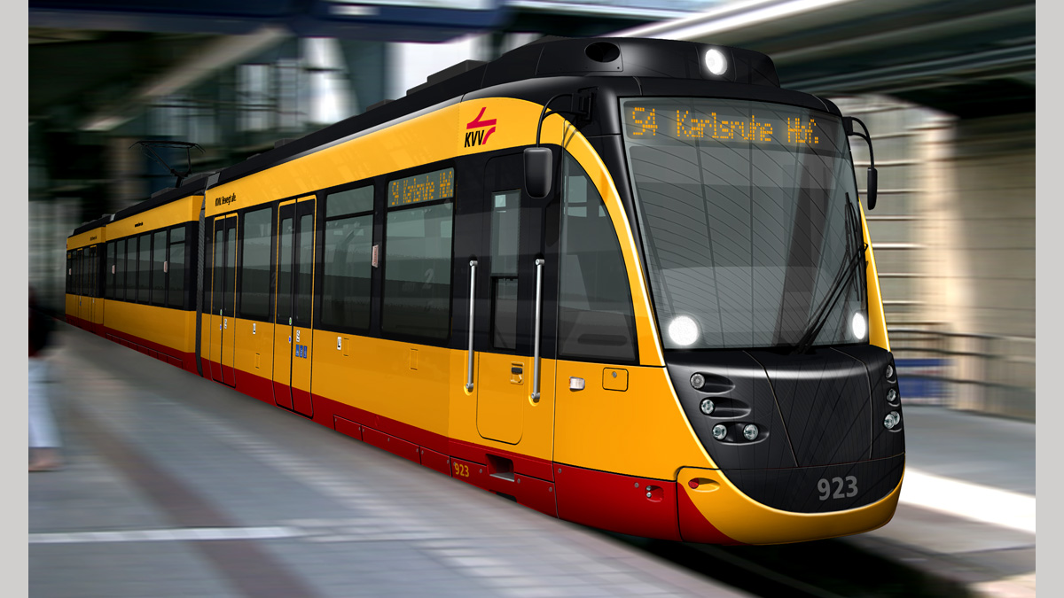 Tram Flexity Swift Karlsruhe Bombardier Transportation Gmbh Ifs